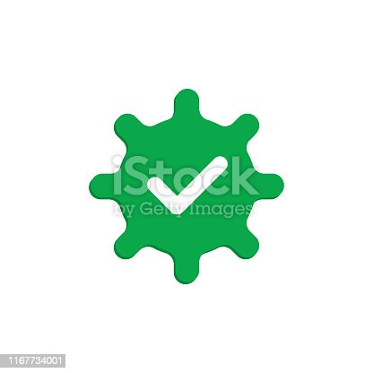 Approved icon. Vector illustration