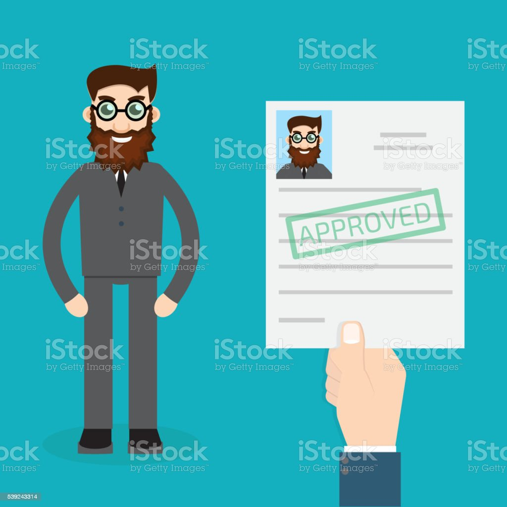 Approved paper royalty-free approved paper stock vector art & more images of agreement