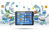 Apps on Tablet PC