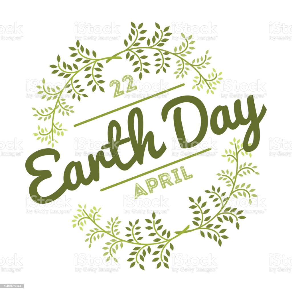 April 22 world earth day logotypes set for greeting cards or banner april 22 world earth day logotypes set for greeting cards or banner with text and m4hsunfo