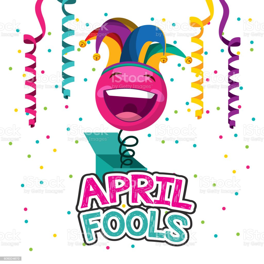 april fools day card stock vector art more images of april rh istockphoto com april fools day clip art free april fools day free clip art