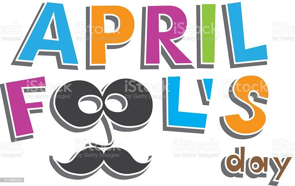 April Fools Day. vector illustration vector art illustration