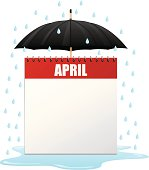 Celebrate a rainy day in April with this calendar!