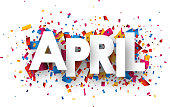 April sign.