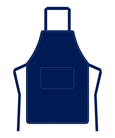 Apron Vector for Template