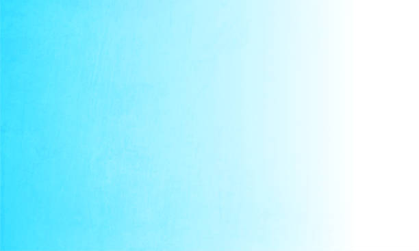 Aqua blue and white coloured ombre vector background illustration Aquamarine bluish and white coloured vector background illustration. No text. No People. Copy space. Vignetting. The right edge is white. The white merges or blends into the blue creating a mystic haze. bad condition stock illustrations