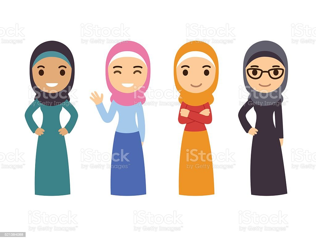 royalty free iranian woman clip art vector images illustrations rh istockphoto com clipart woman's birthday clipart woman outline