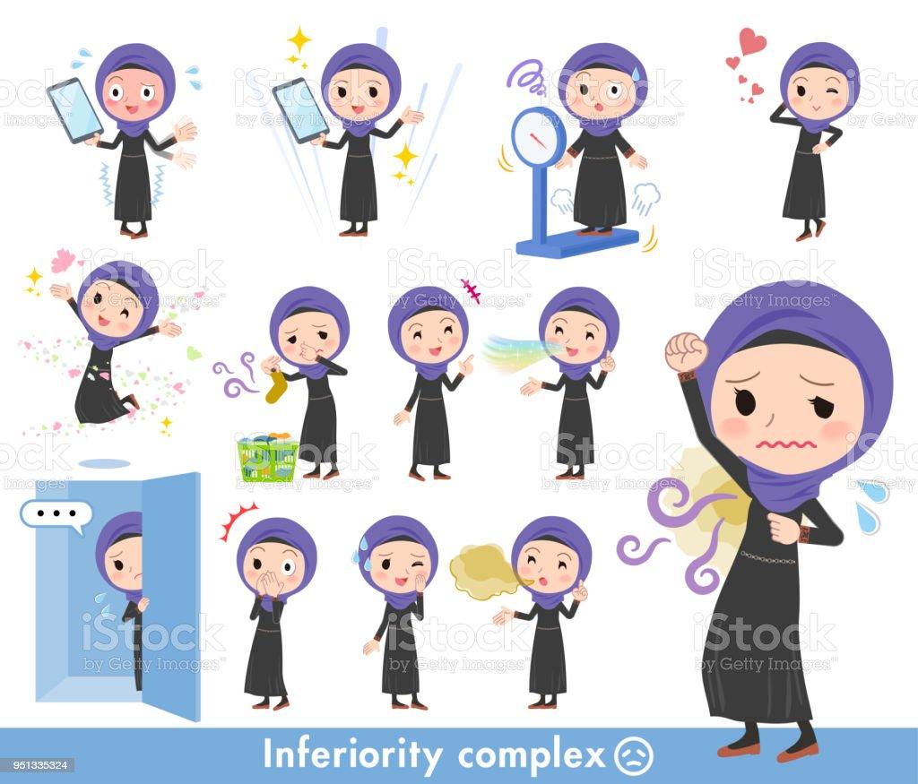 Arab women_complex vector art illustration