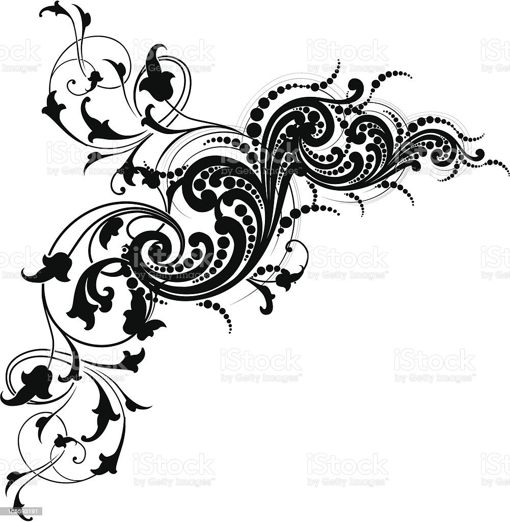 Arabesque and Scroll royalty-free arabesque and scroll stock vector art & more images of angle
