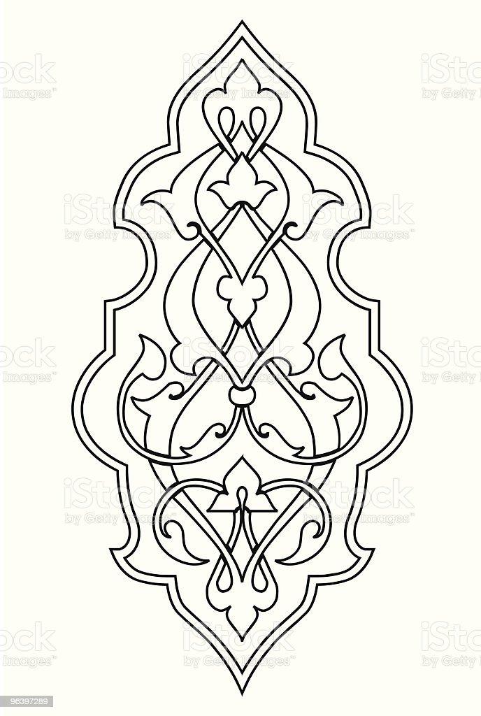 arabesque damask - Royalty-free Abstract stock vector