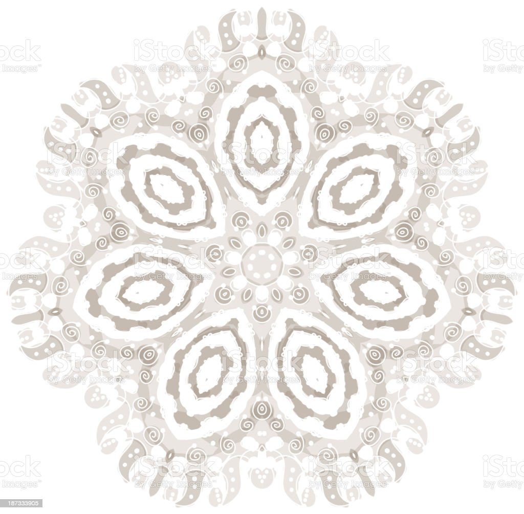 Arabesque ornament for your design royalty-free stock vector art