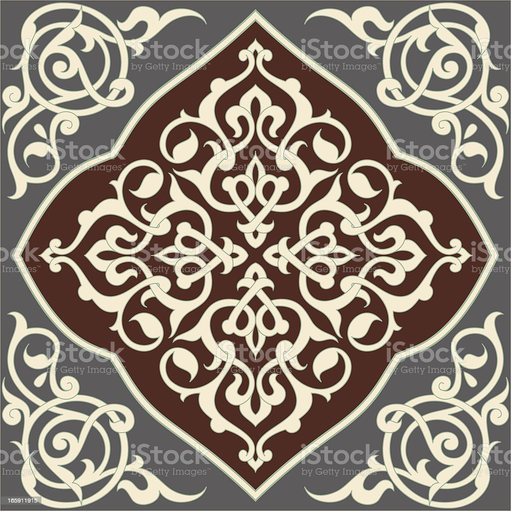 Arabesque Tile royalty-free arabesque tile stock vector art & more images of arabic style