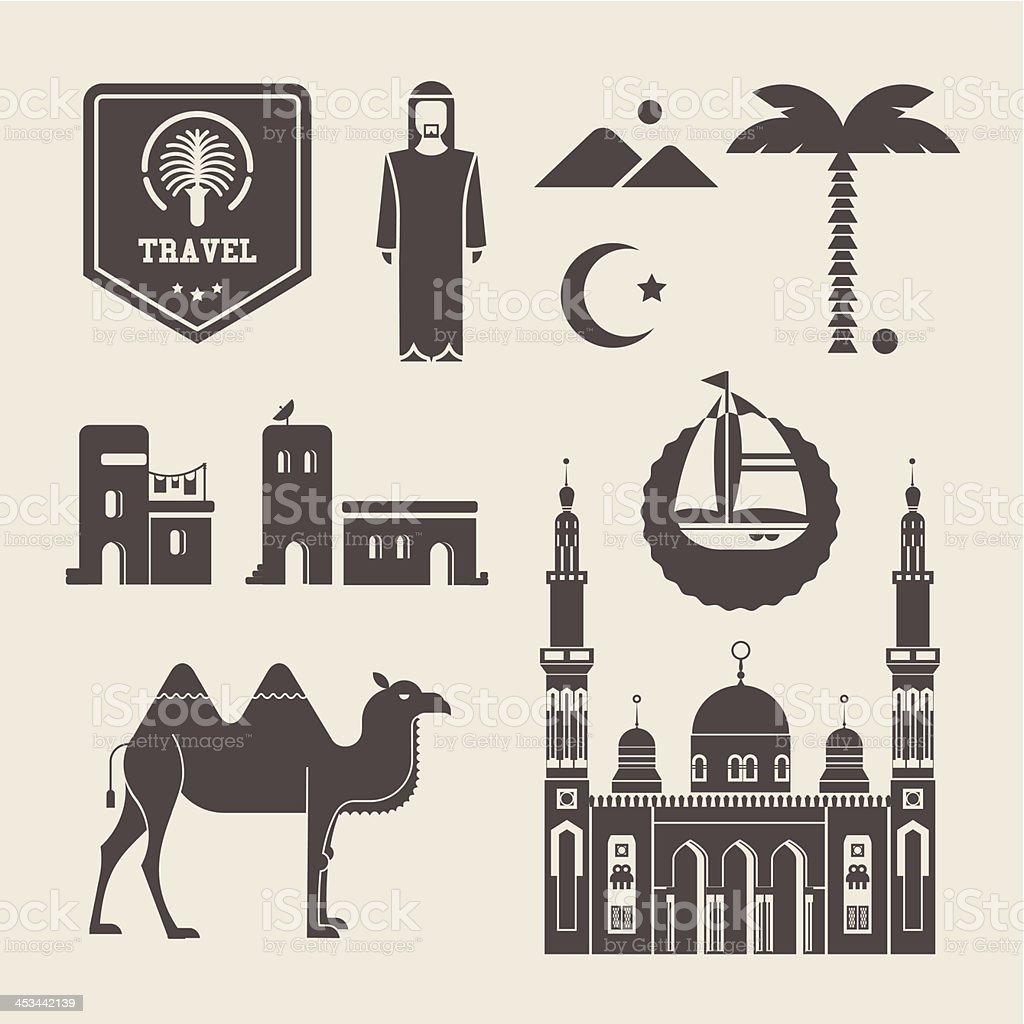 Arabic icons royalty-free arabic icons stock vector art & more images of adult