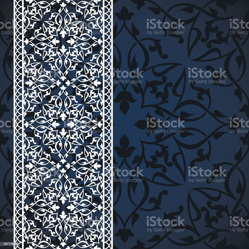 Arabic Invitation Card Stock Illustration Download Image