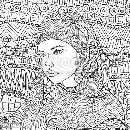 istock Generaciones de mujeres árabes de niño a anciano ...