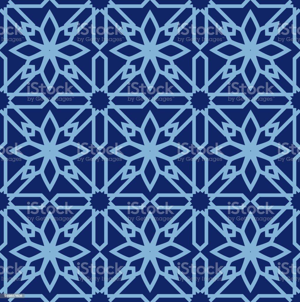 arabische musterdesign mosaik orientalische ornamente