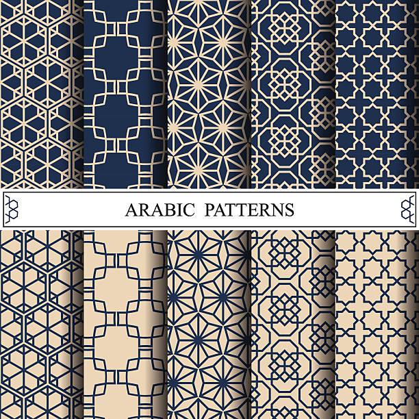 arabic vector pattern,pattern fills, web page background,surface vector art illustration