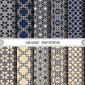 arabic vector pattern,pattern fills, web page background,surface