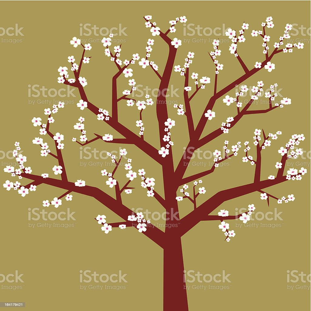 arbol (vector) vector art illustration