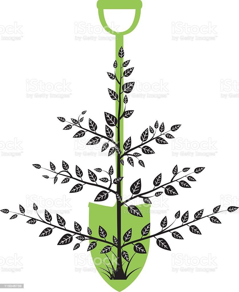 Arbor Day Tree royalty-free stock vector art