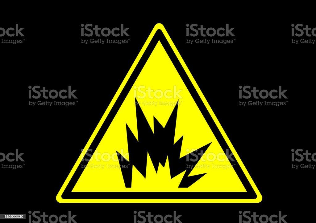 Arc flash explosievectorkunst illustratie