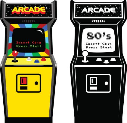 Arcade Game Cabinet