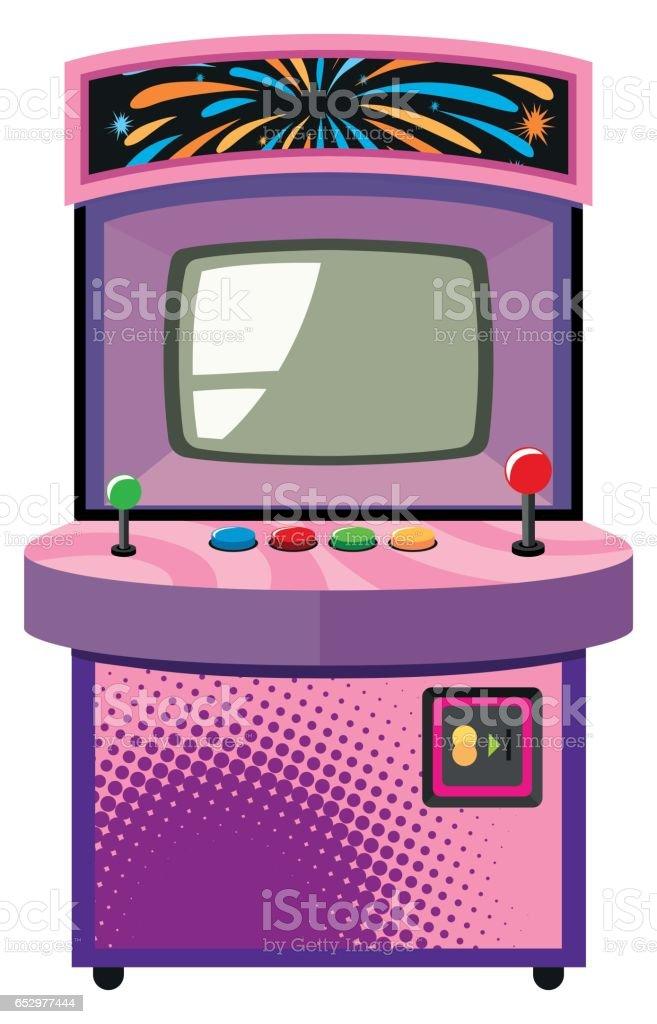 royalty free arcade game machine clip art vector images rh istockphoto com video arcade clipart arcade clip art free