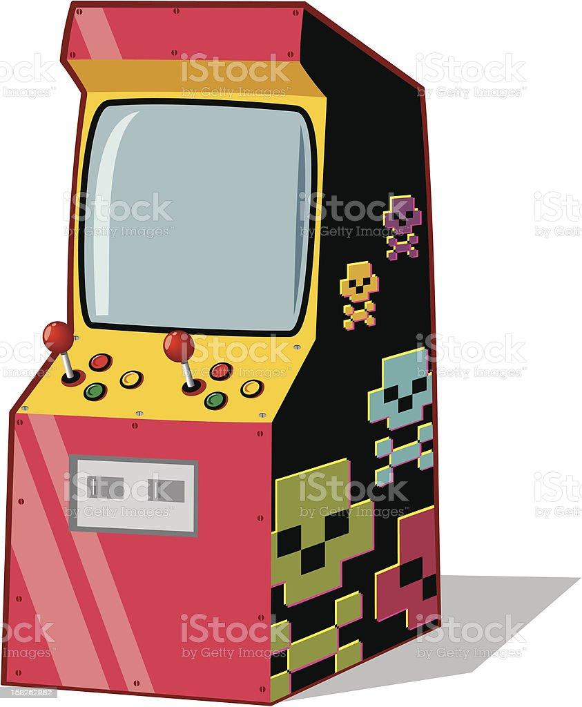 arcade machine stock vector art more images of antique 158262882 rh istockphoto com arcade machine clipart arcade game clipart