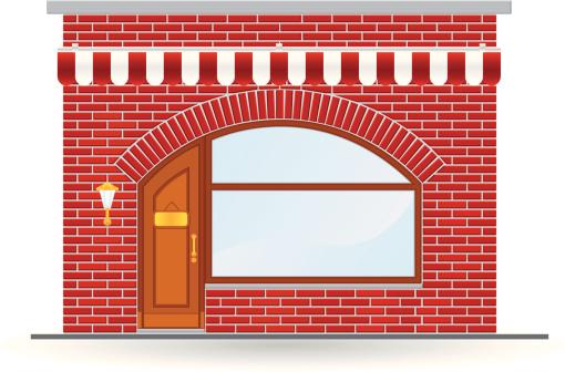 arch brick store icon