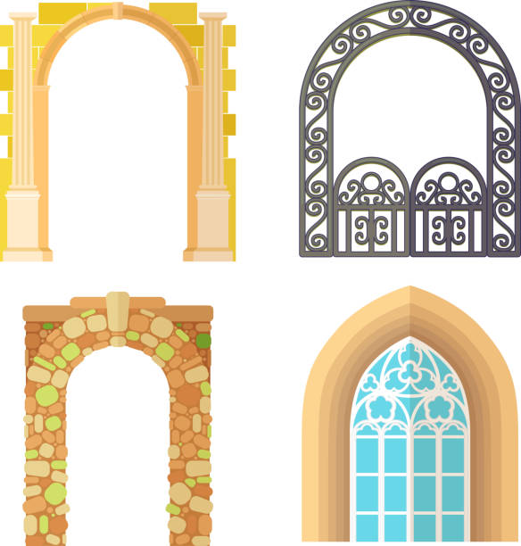 3c9957089871 Top 60 Front View Of A Classic Entrance With Columns Clip Art ...