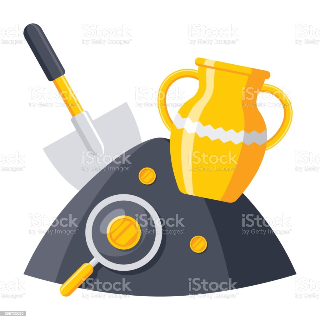 royalty free archaeology tools clip art vector images rh istockphoto com archaeology clipart free archaeology clip art free
