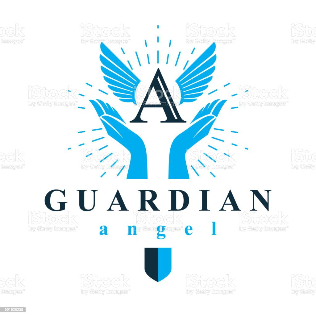 Archangel Vector Conceptual Symbol For Use In Catechesis
