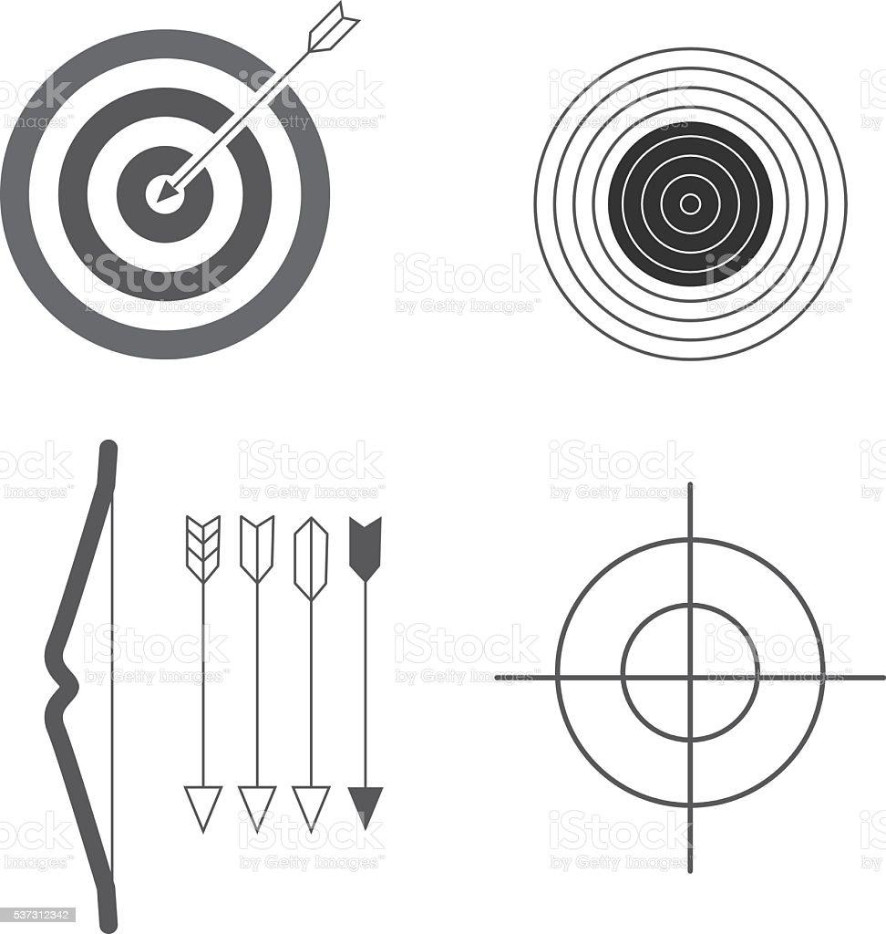 Bogenschießen Clipart Stock Vektor Art Und Mehr Bilder Von