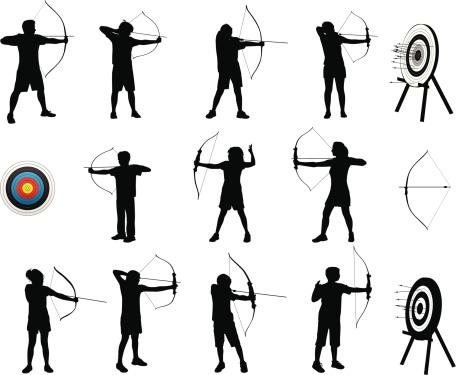 Archery Silhouettes