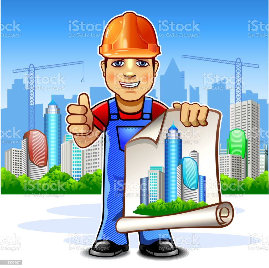 Architect Builder Royalty Free Architect Builder Stock Vector Art U0026amp; ...