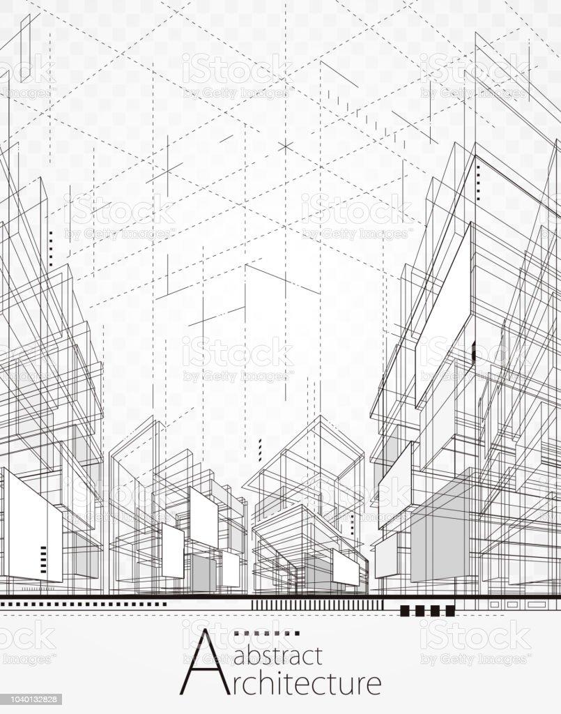 Fondo abstracto arquitectura ilustración de fondo abstracto arquitectura y más vectores libres de derechos de abstracto libre de derechos