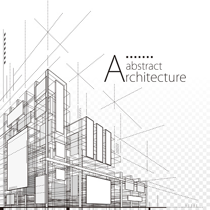 Architectural Abstract Design clipart