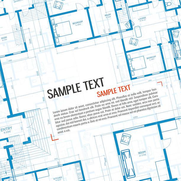 Fondo arquitectónico. - ilustración de arte vectorial