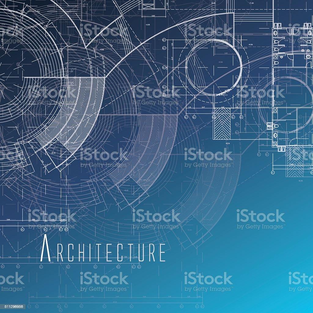 Architectural background.