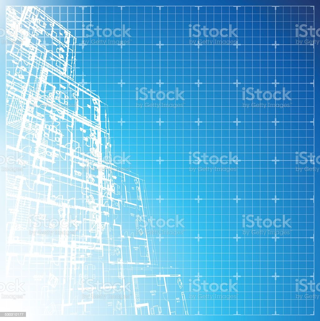 Architectural background. vector art illustration