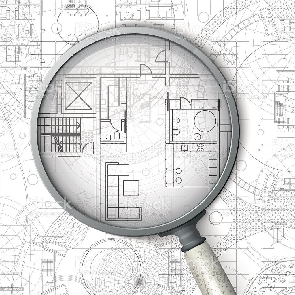 Architectural blueprint stock vector art more images of 2015 architectural blueprint royalty free architectural blueprint stock vector art amp more images of malvernweather Images