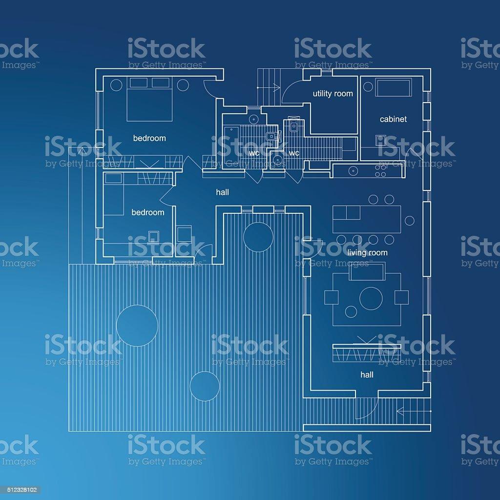 Arquitectura blueprint con el plan de arte vectorial de stock y arquitectura blueprint con el plan de arquitectura blueprint con el plan de arte vectorial malvernweather Image collections