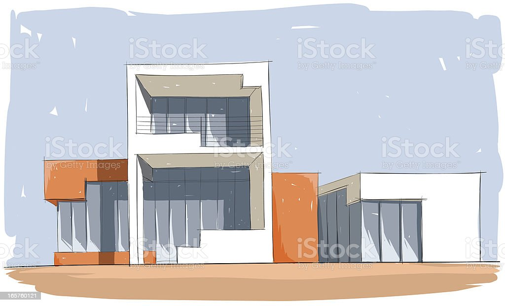 architectural design royalty-free stock vector art
