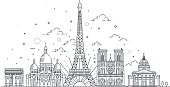 Architectural landmarks of Paris