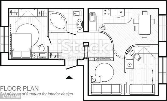 Plano arquitet nico de uma casa layout do apartamento for Plano b mobilia