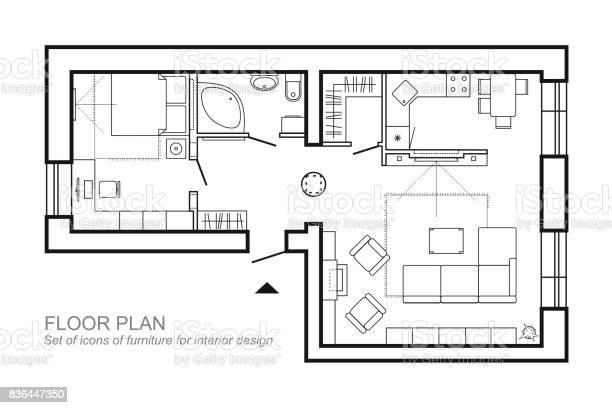 Floor Plan Free Vector Art 16396 Free Downloads