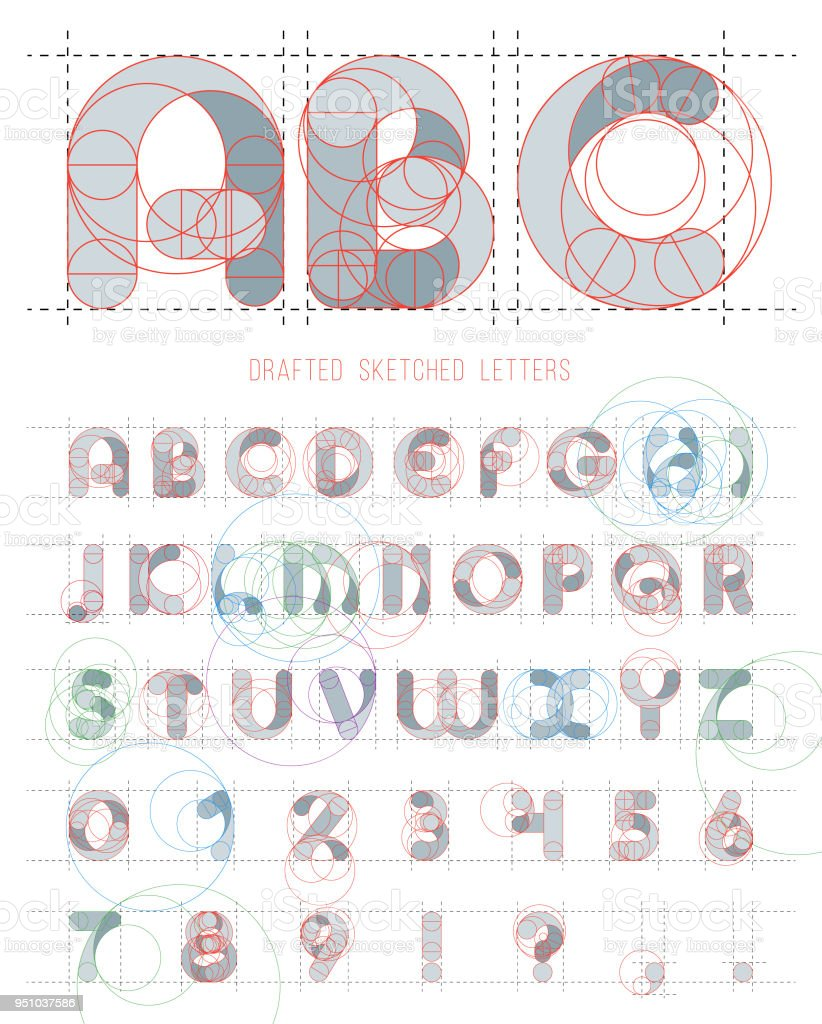 Architectural sketches letters set vector blueprint style font architectural sketches letters set vector blueprint style font alphabet royalty free architectural sketches letters malvernweather Images