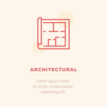 Architectural Vector Icon, Stock Illustration