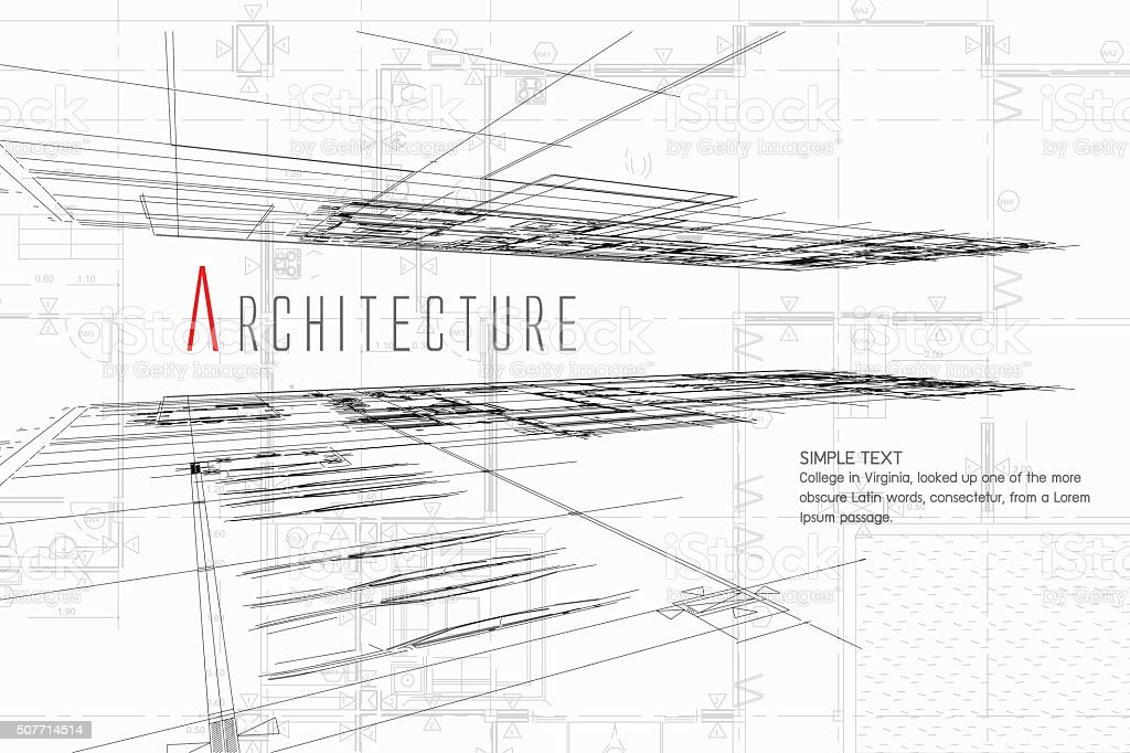 Architecture Background vector art illustration