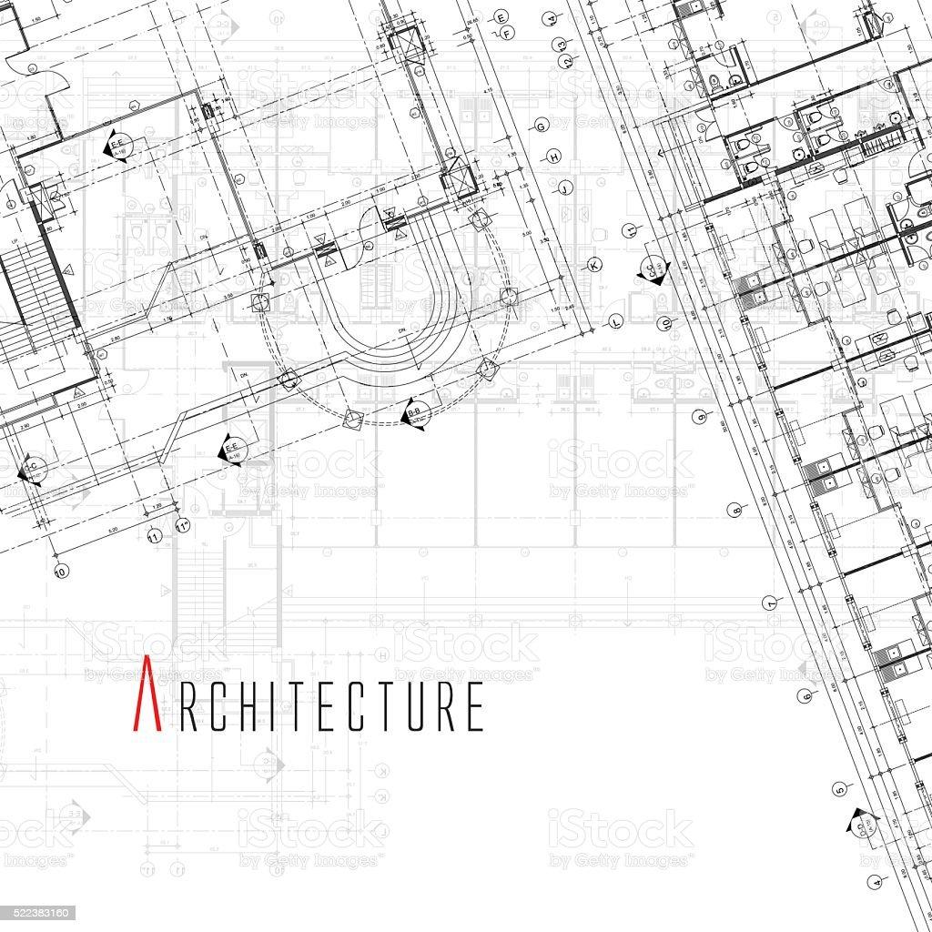 Arquitectura fondo. - ilustración de arte vectorial